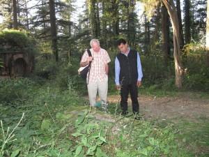 Kenlog Cemetery in Shimla