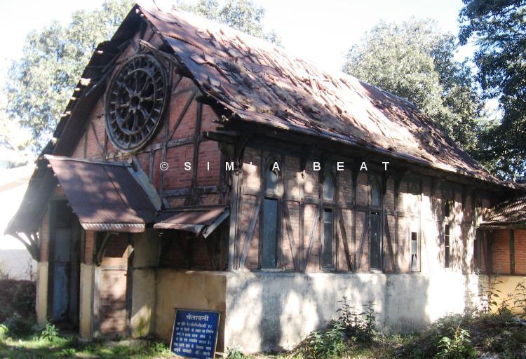 Shimla Chapel near Viceregal Lodge